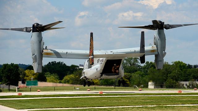 V-22 Osprey (Photo: EPA)
