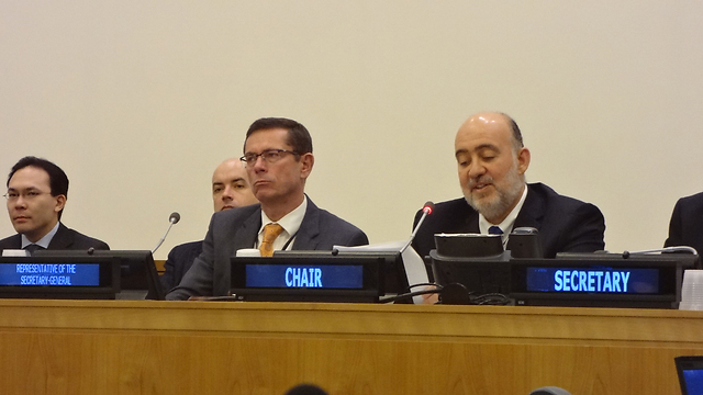 Prosor chairing the elections (Photo: Tal Trachtman Alroy)