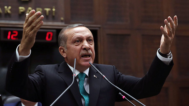 Turkish PM Erdogan (Photo: AP)