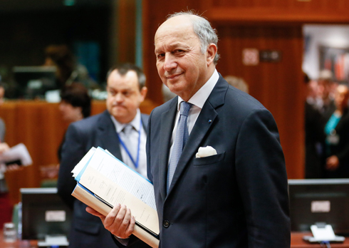 French Foreign Minister Laurent Fabius (Photo: EPA)