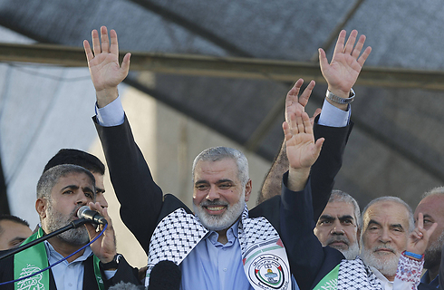 Hamas leader Ismail Haniyeh (Photo: AFP)