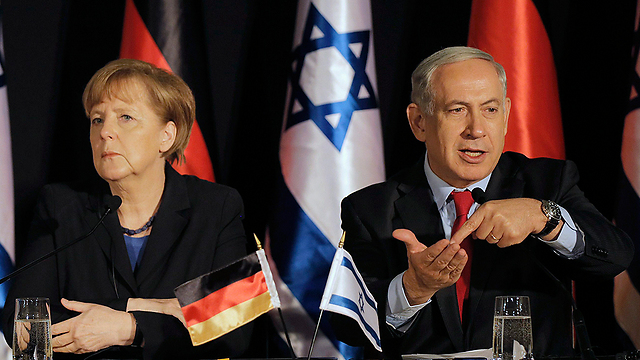 Merkel and Netanyahu in Jerusalem earlier this year. Germany is 'increasingly frustrated' with Israeli policies. (Photo: Reuters)