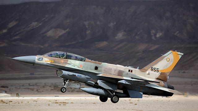 Israeli F-16I (Photo: EPA)