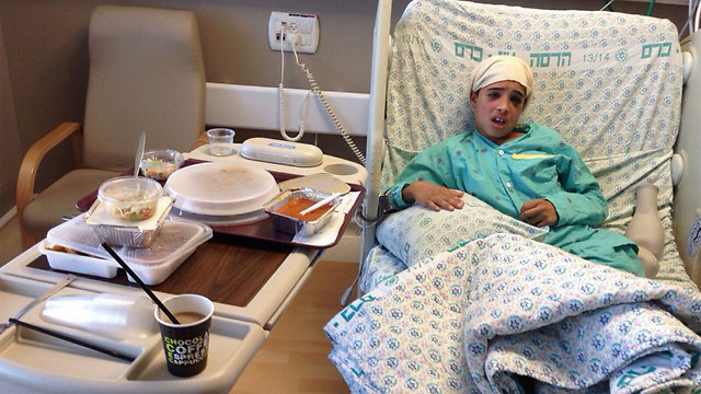 Ahmad Mansara in hospital after committing attack