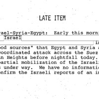 Another zionist myth blown away: CIA Documents Confirm 1973 Yom Kippur War Was An Act of Aggression By israel