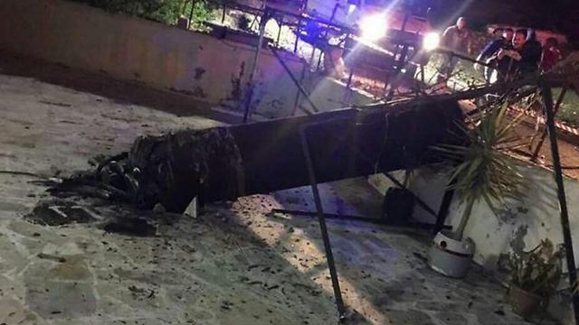 The unidentified object that fell in Jordan