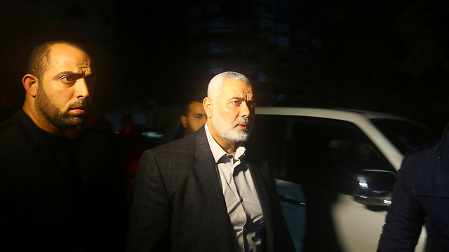 Ismail Haniyeh following news of the assassination (Photo: AFP) (Photo: AFP)