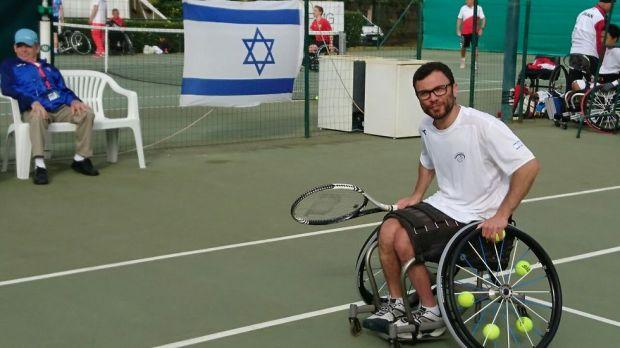 Ноам Гершуни. Фото: Федерация паралимпийского спорта