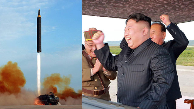 North Korean leader Kim Jong-un observes launch of missile over Japan. Experts believe the North could have been tamed (Photos: AP, AFP) (Photo: AP, AFP)