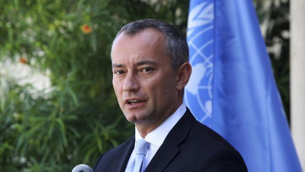 Специальный посланник ООН на Ближнем Востоке Николай Младенов. Фото: AP (Photo: AP)
