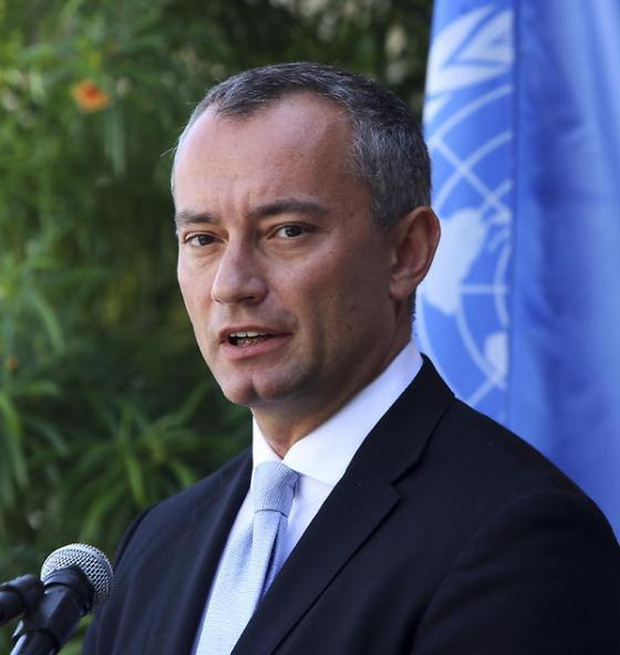 UN envoy to the Middle East Nickolay Mladenov (Photo: AP)