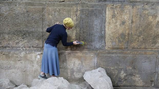 Стена плача открывает свои секреты. Фото: Амит Шааби (Photo: Amit Shabi)