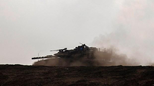 Танковые учения ЦАХАЛа. Фото: EPA (Photo: EPA)