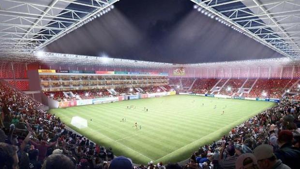 Так будет выглядеть игровое поле