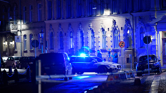 The Gothenburg Synagogue in Sweden, attacked last year with Molotov cocktails. (photo: AP)
