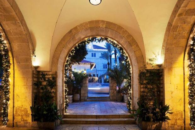 Иерусалим. Гостиница The American Colony. Фото: Микла Бурсето-Азулаи