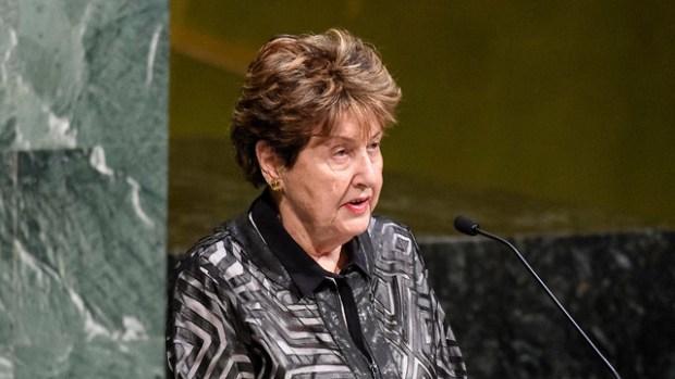 На трибуне Генассамблеи ООН. Фото: пресс-служба ООН (Photo: UN Photo)