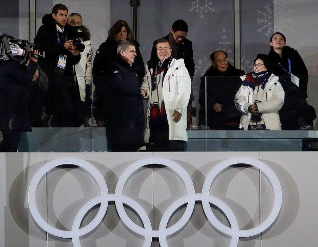 Сестра Ким Чен Ына прибыла на церемонию открытия. Фото: АР