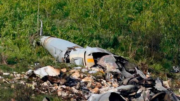 Разбившийся F-16. Фото: AFP (Photo: AFP)