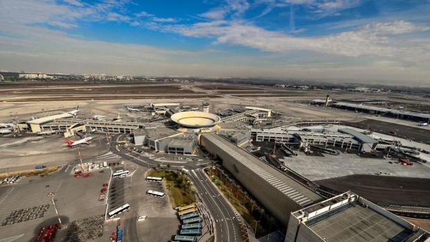 Строящийся сектор терминала № 3. Фото: Мони Шафир, Israir