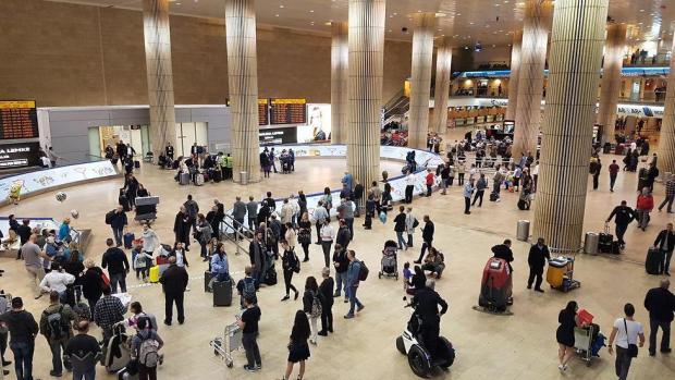 Аэропорт Бен-Гурион. Фото: Ави Хай (Photo: Avi Chai)