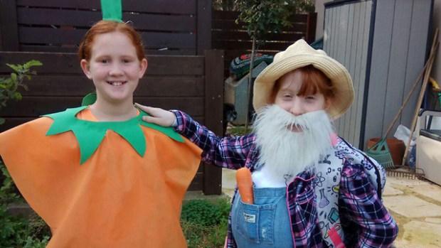 Гезер и Элиэзер. То бишь морковка и дядя Изя