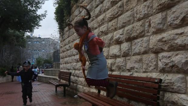 В школе имени Полы Бен-Гурион в Иерусалиме дети проявили много фантазии. Фото: Гиль Йоханан
