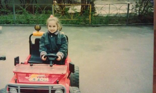 Катя в детстве. Фото из личного архива