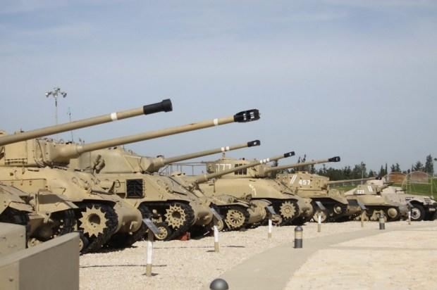 Музей бронетанковых войск. Фото: Сиван Фарадж