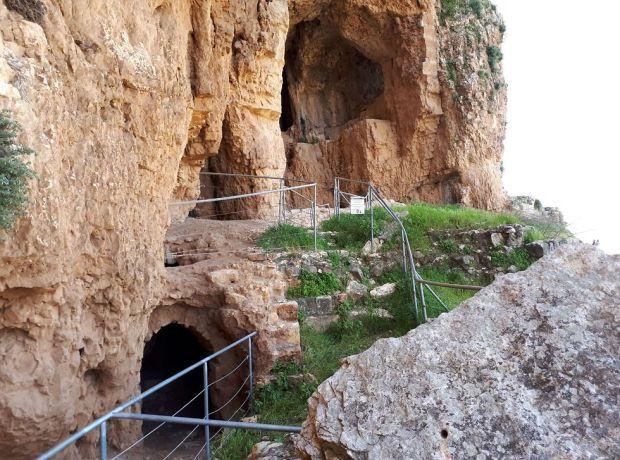Крепость Арбель. Фото: Асаф Дори, национальный парк Арбель