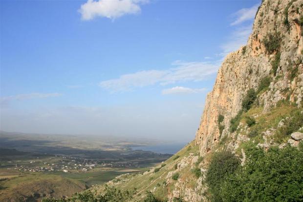 Вид с горы Кармель. Фото: Йорам Шафрир