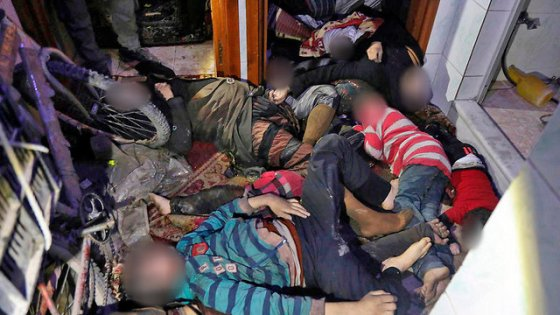 The Douma attack last week prompted the Western retaliation (Photo: AP)