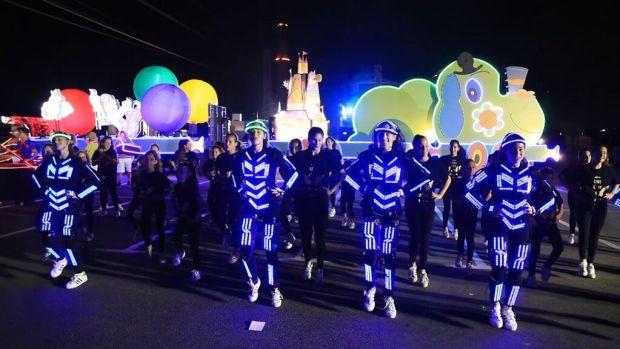 Репетиция парада света в Тель-Авиве. Фото: Игаль Элимелех