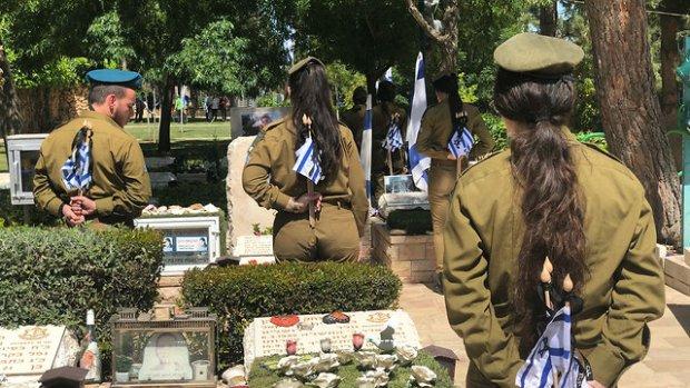 День памяти павших в войнах Израиля. Фото: пресс-служба ЦАХАЛа