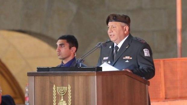 Начальник генштаба ЦАХАЛа Гади Айзенкот. Фото: Алекс Коломойский