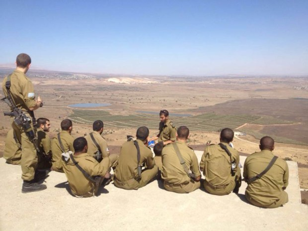 Даниэль Бриодин на военных сборах. Фото предоставлено ЦАХАЛом