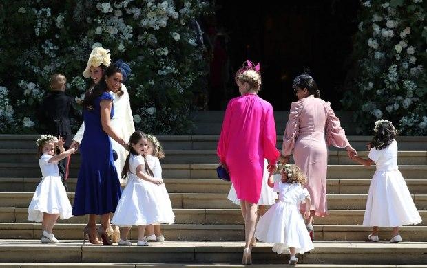 Маленькие ангелочки на свадьбе. Фото: MCN