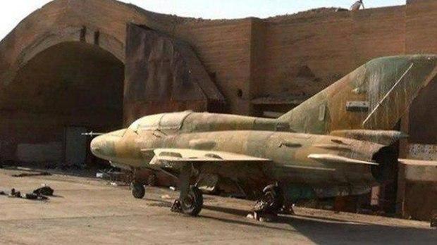 Сирийский МиГ на авиабазе Дабаа (архив)