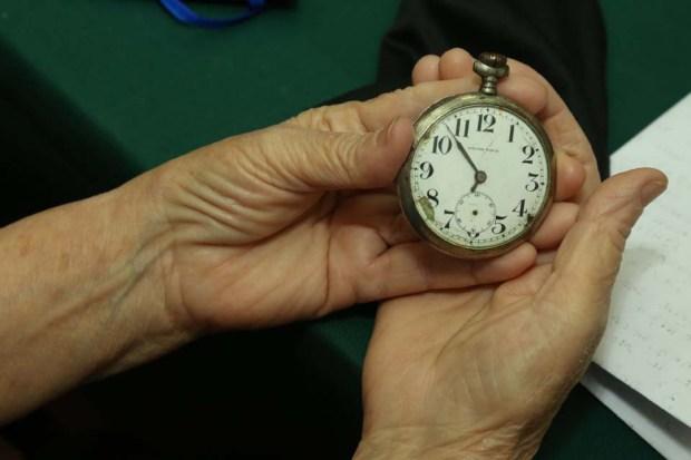 Часы Якова Нагерова. Фото: Борис Кульмагамбетов