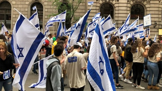 Марш солидарности с Израилем. Фото: Исраэль Ацмон (Photo: Israel Atzmon)
