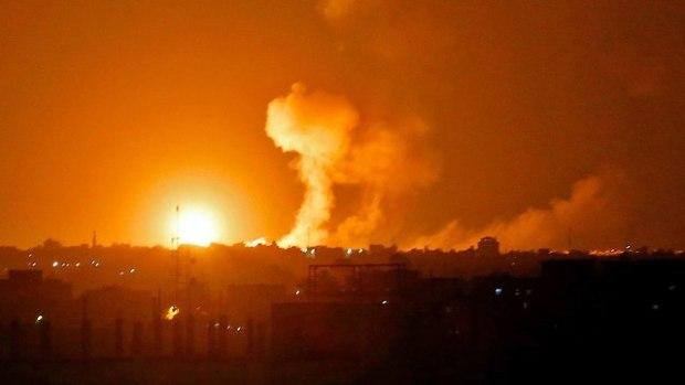 Боестолкновение в Газе. Фото: AFP (Photo: AFP)