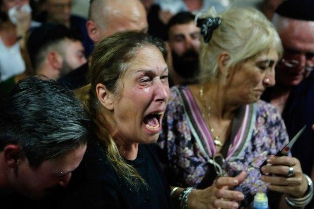Похороны  Ким Лебенгрунд-Йехезкель. Фото: AFP