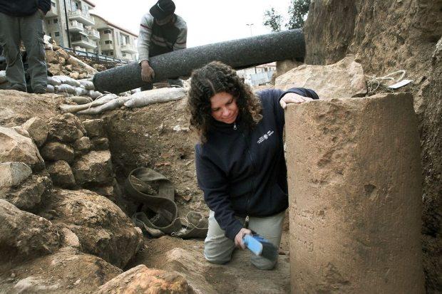 Место раскопок. Фото: Йоли Шварц, Управление древностей