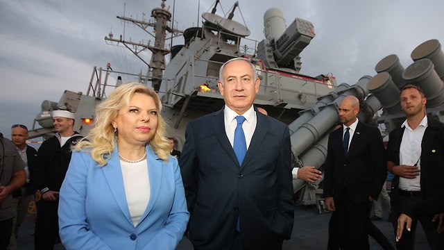 Prime Minister Netanyahu and wife (Photo: Marc Israel Sellem)