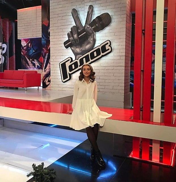 "Катя Короткова - участница шоу ""Голос"". Фото: ""Голос"", Россия"