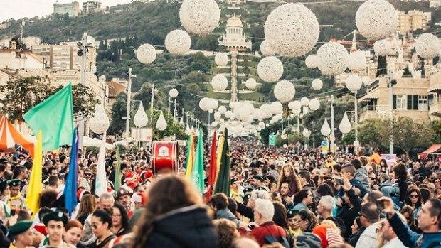 Рождественские торжества в Хайфе. Фото: Мор Альнакве