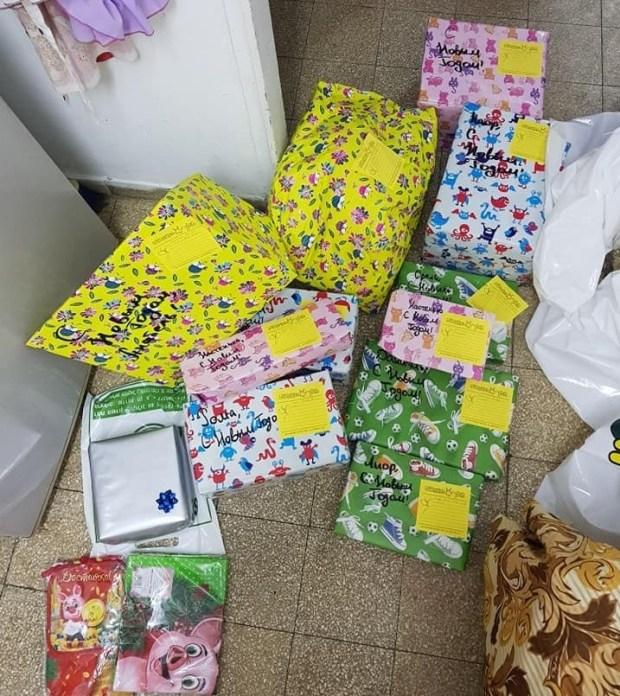 Подарки, купленные Ариной для детишек. Фото: личный архив