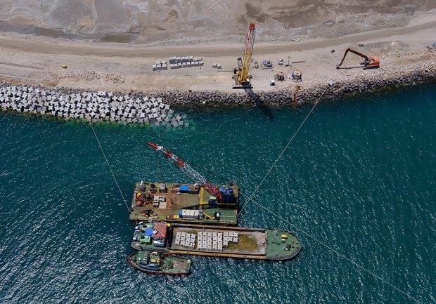 Хайфский порт. Фото: Исраэль Бардуго
