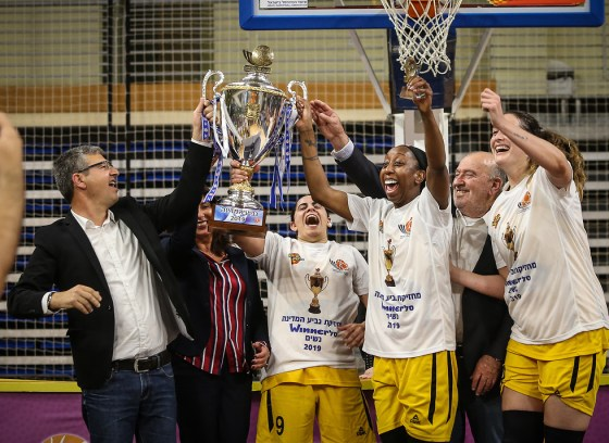 Michael Videl Elitzur Ramla Women's National Basketball Cup