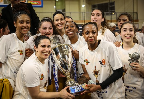 Elitzur Ramla Women's Basketball National Cup